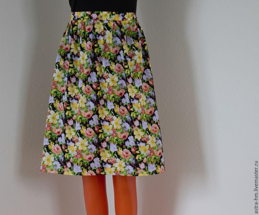 Простая летняя юбка своими руками фото 51