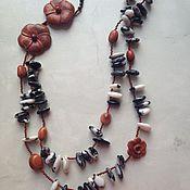Украшения handmade. Livemaster - original item Lady with camellias. Handmade.