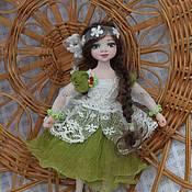 Куклы и игрушки ручной работы. Ярмарка Мастеров - ручная работа Куколка для домика. Handmade.