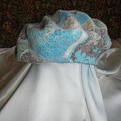 Аксессуары ручной работы. Ярмарка Мастеров - ручная работа Женская валяная шляпка-берет. Handmade.