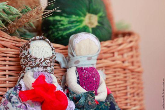 Народные куклы ручной работы. Ярмарка Мастеров - ручная работа. Купить Подорожница. Кукла-оберег для путешественников. Handmade. Комбинированный