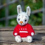 Куклы и игрушки handmade. Livemaster - original item Soft toys: Bunny in a sweater. Handmade.