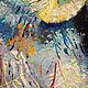 Заказать СПИ ЛЮБИМАЯ картина маслом с совами. Удивительные картины Юлии Ягудиной. Ярмарка Мастеров. . Картины Фото №3