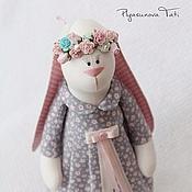 Куклы и игрушки ручной работы. Ярмарка Мастеров - ручная работа Зайка тильда Весна - мягкая игрушка. Handmade.
