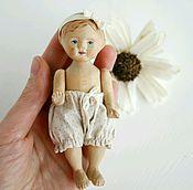 Куклы и игрушки ручной работы. Ярмарка Мастеров - ручная работа Кукла из дерева малышка пупс. Handmade.