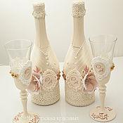 Свадебный салон ручной работы. Ярмарка Мастеров - ручная работа Свадебное набор ``Волшебное свечение``. Handmade.