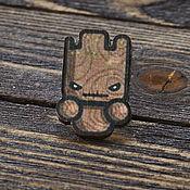 Украшения handmade. Livemaster - original item Wooden icon Groot Guardians of the Galaxy. Handmade.