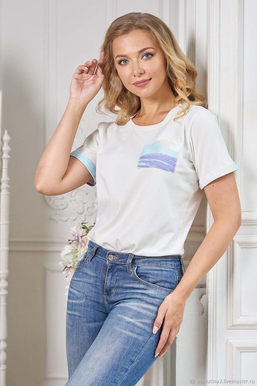 T-Shirt ' Sketch', T-shirts, St. Petersburg,  Фото №1
