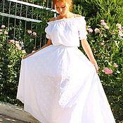 Одежда handmade. Livemaster - original item Dress with lace