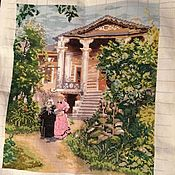 Картины и панно ручной работы. Ярмарка Мастеров - ручная работа В саду. Handmade.
