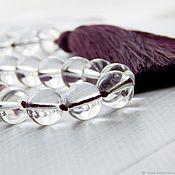 Фен-шуй и эзотерика handmade. Livemaster - original item Crystal heart rosary made of rock crystal. Handmade.