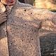 """Верхняя одежда ручной работы. Пальто """"Рижский песок"""". Ирина Кулябина (shabanoff). Ярмарка Мастеров. Пальто из шерсти, твидовая пряжа"""