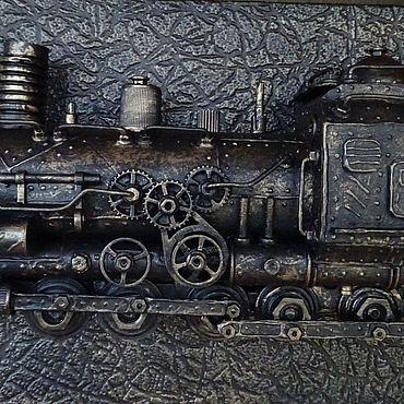 Субкультуры ручной работы. Ярмарка Мастеров - ручная работа Паровоз 15. Handmade.