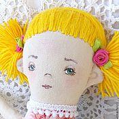 Куклы и игрушки ручной работы. Ярмарка Мастеров - ручная работа Текстильная игровая кукла для маленькой девочки Весна. Handmade.