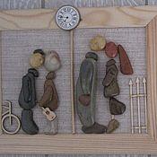 Картины и панно ручной работы. Ярмарка Мастеров - ручная работа О времени и о себе. Handmade.