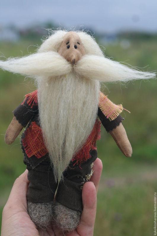 Народные куклы ручной работы. Ярмарка Мастеров - ручная работа. Купить домовой или леший)домашний оберег. Handmade. Комбинированный, оберег