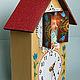Часы для дома ручной работы. Заказать Кукла Домовой Яшка  - хранитель часов. Александрова Стася. Ярмарка Мастеров. Часы настенные