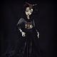Коллекционные куклы ручной работы. Дэниела Gothic Steampunk шарнирная кукла. Инна Павлова. Ярмарка Мастеров. Кукла, хеллоуин, шарнирная