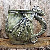Посуда handmade. Livemaster - original item Mug ,Dragon