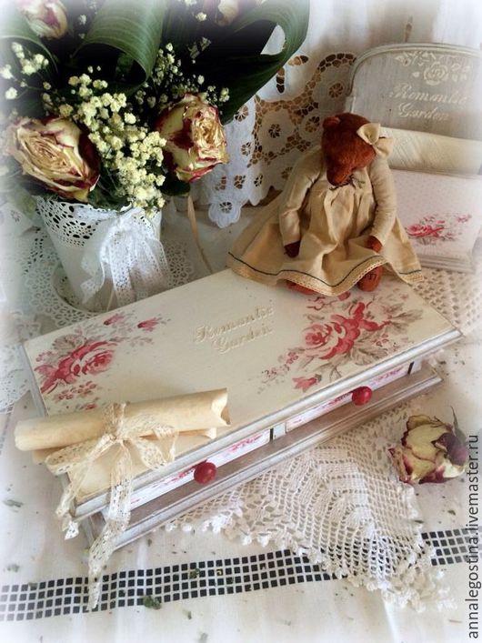 """Мини-комоды ручной работы. Ярмарка Мастеров - ручная работа. Купить Комодик дамский """" Romantic Garden"""". Handmade. Комодик"""
