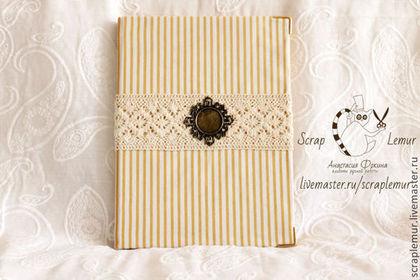Персональные подарки ручной работы. Ярмарка Мастеров - ручная работа Блокноты с ручным коптским переплетом формата A-6. Handmade.