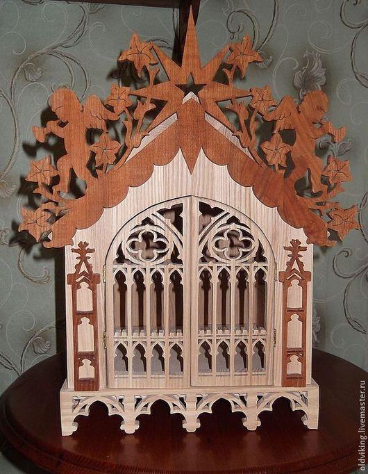 Кукольный дом ручной работы. Ярмарка Мастеров - ручная работа. Купить Кукольный домик. Handmade. Домик, шкатулка, рождество, звезда