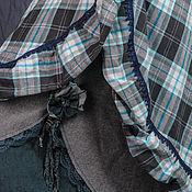 """Одежда ручной работы. Ярмарка Мастеров - ручная работа Изысканная трехслойная бохо-юбка """"Быть собой. Быть Королевой"""". Handmade."""