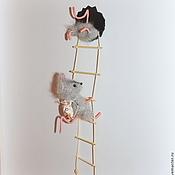 Куклы и игрушки ручной работы. Ярмарка Мастеров - ручная работа Пока кот Васька спит, или мышки-воришки. Handmade.