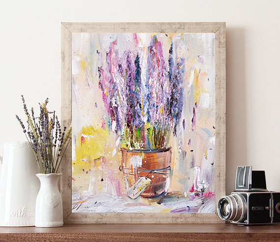 The painting `the Aroma of warm fields`