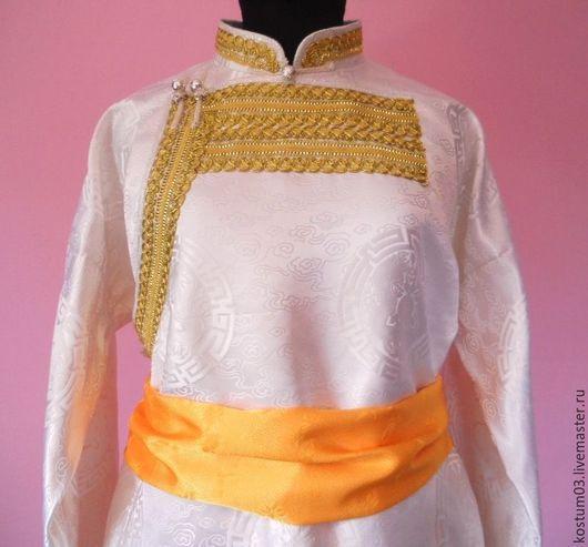 Этническая одежда ручной работы. Ярмарка Мастеров - ручная работа. Купить Стилизованный мужской бурятский костюм. Handmade. Стилизованный костюм