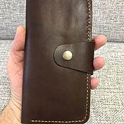 Кошельки ручной работы. Ярмарка Мастеров - ручная работа Кожаный кошелёк. Handmade.
