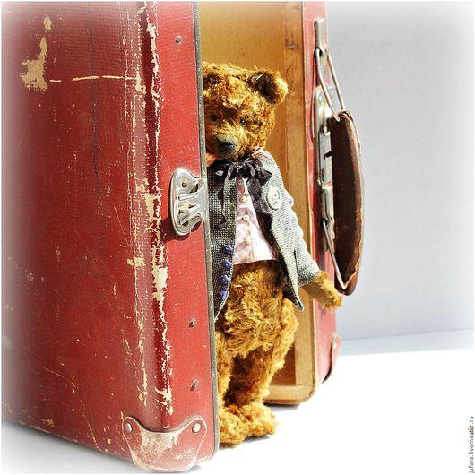 Мишки Тедди ручной работы. Ярмарка Мастеров - ручная работа. Купить May. Handmade. Коричневый, тедди, винтажный стиль, весна