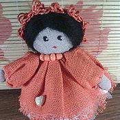Куклы и игрушки ручной работы. Ярмарка Мастеров - ручная работа Куколка Бохо(брелок). Handmade.