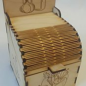 Банки ручной работы. Ярмарка Мастеров - ручная работа Ящичек для специй. Handmade.