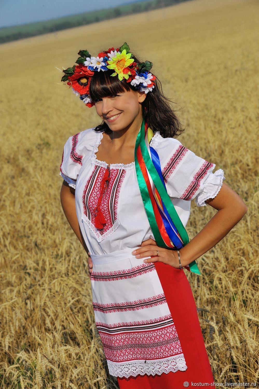 Украинская национальная женская одежда картинки