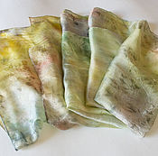 Аксессуары ручной работы. Ярмарка Мастеров - ручная работа Шелковый шарф Весенний ветер. Handmade.