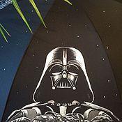Зонт с росписью на тему Звездные войны