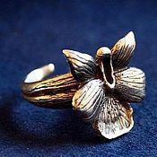 """Кольца ручной работы. Ярмарка Мастеров - ручная работа Кольцо """"Дикая орхидея"""". Handmade."""