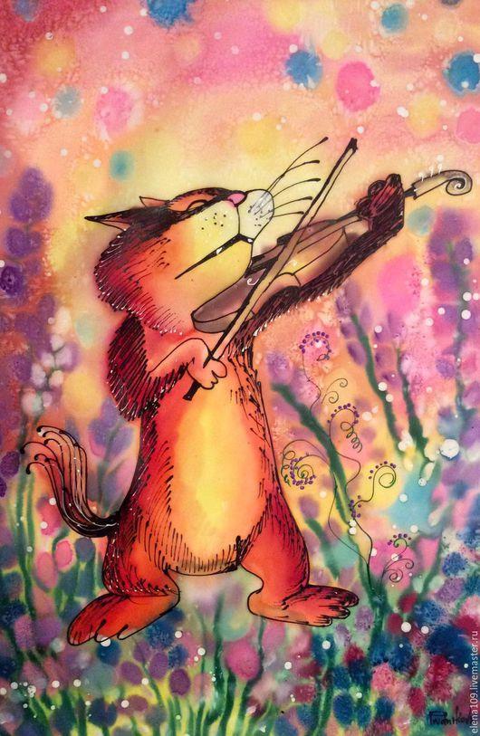 Животные ручной работы. Ярмарка Мастеров - ручная работа. Купить Музыкант!!!!!. Handmade. Комбинированный, Картины и панно