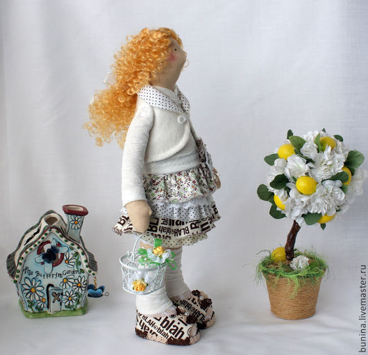 Куклы Тильды ручной работы. Ярмарка Мастеров - ручная работа. Купить Габриель кукла тильда. Handmade. Тильда, рыжая кукла