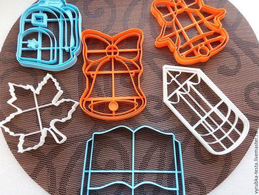 Кухня ручной работы. Ярмарка Мастеров - ручная работа. Купить Школьный рюкзак  - вырубка для печенья, пряников, мастики. Handmade. Комбинированный