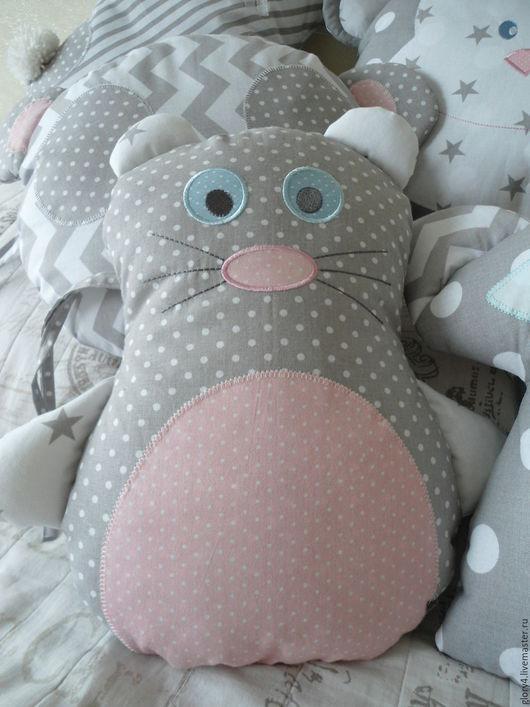 Детская ручной работы. Ярмарка Мастеров - ручная работа. Купить Бортики в кроватку новорожденного  Карандашные зверята. Handmade. Ботики