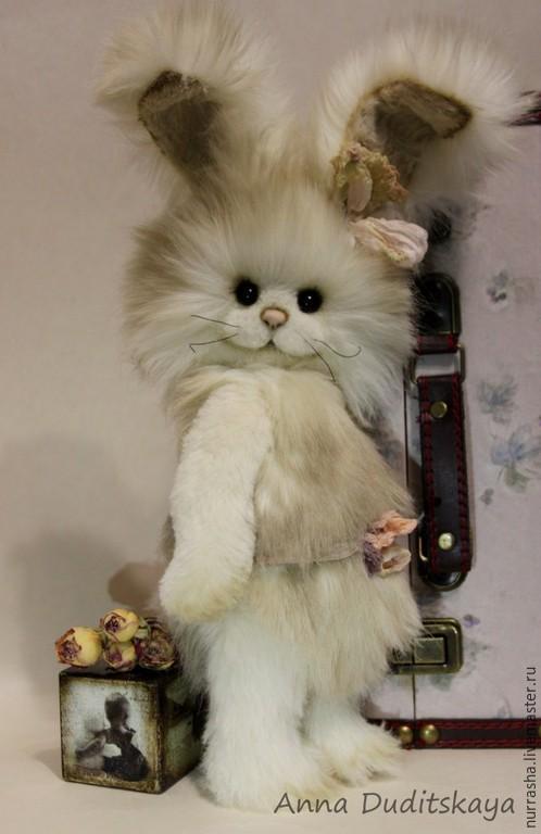 Мишки Тедди ручной работы. Ярмарка Мастеров - ручная работа. Купить Тутси. Handmade. Бежевый, кролик тедди, альпака