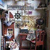 Куклы и игрушки ручной работы. Ярмарка Мастеров - ручная работа Кабинет путешественника. Handmade.