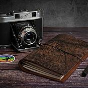 Канцелярские товары handmade. Livemaster - original item Travelers notebook Midori Regular size DOGMA. Handmade.