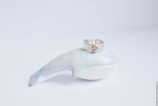 Кольца ручной работы. Ярмарка Мастеров - ручная работа. Купить Кольцо серебряное 925 пробы с кристаллом кварца Нежность. Handmade.