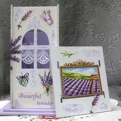 Для дома и интерьера handmade. Livemaster - original item Tea house Lavender decoupage. Handmade.