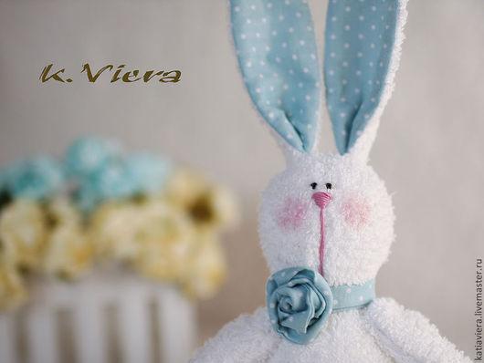 куклы, игрушки ручной работы, зайка, тильда заяц, handmade, K.Viera, Ярмарка Мастеров.