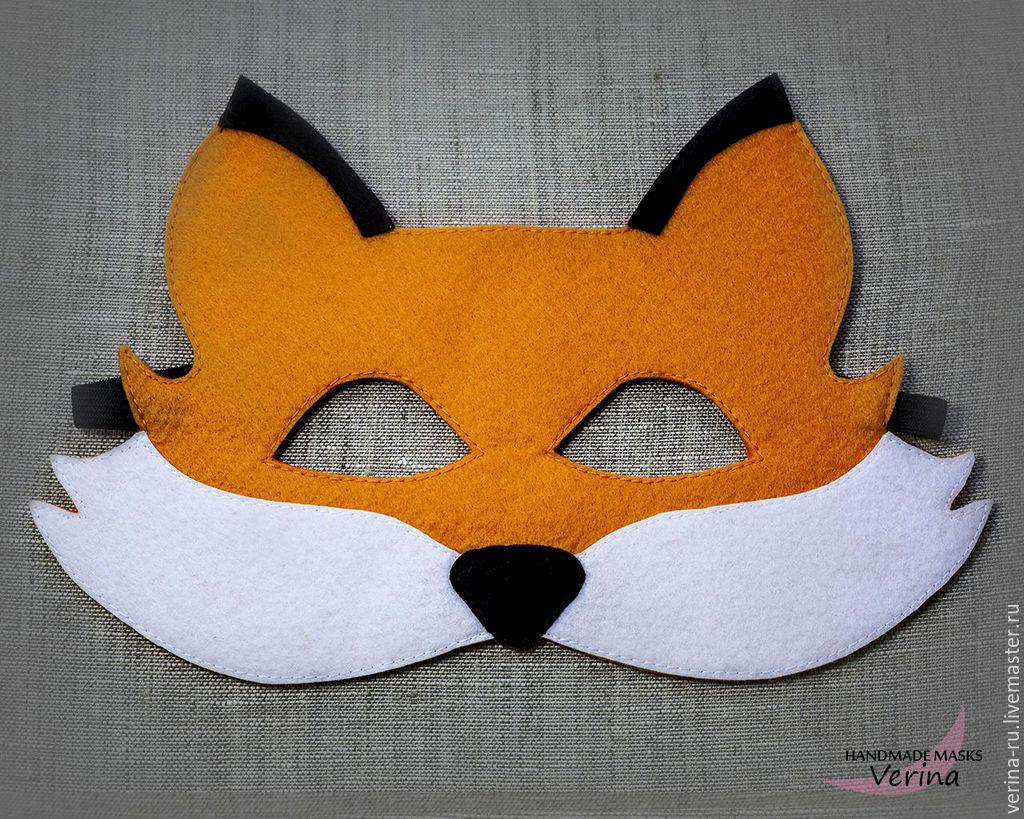 Маска лисы своими руками лисы 35