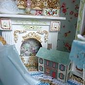 """Куклы и игрушки ручной работы. Ярмарка Мастеров - ручная работа """"Где живет Алиса..."""" (румбокс, кукольный дом). Handmade."""